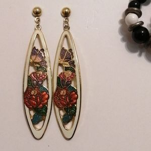 Vintage hawaii earrings!!
